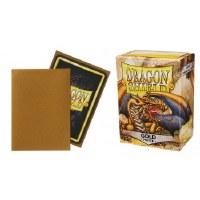 Dragon Shield Gold Matte Standard Sleeves (100)