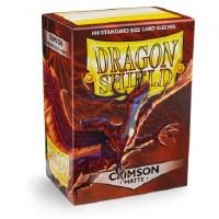 Dragon Shield Crimson Matte Standard Sleeves (100)