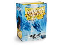 Dragon Shield Baby Blue Matte Standard Sleeves (100)
