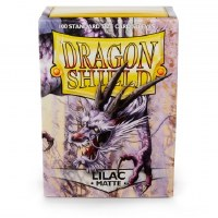 Dragon Shied Lilac Matte Standard Sleeves (100)