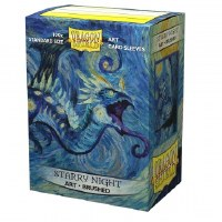 Dragon Shield Brushed Art Sleeves Starry Night