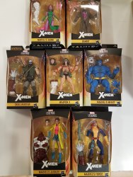 Marvel Legends X-Man Action-Figure Assortment (7)