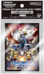 Digimon Card Game Official Sleeves Wargreymon, Dukemon, Impe