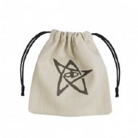 Call of Cthulhu Beige & black Dice Bag