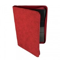 Blackfire Premium 9 Pocket Zip-Album Red (360)