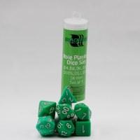 Blackfire RPG Dice Set of 7 Green