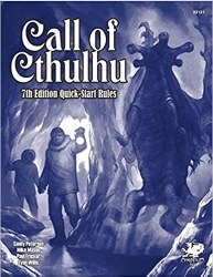 Call of Cthulhu RPG 7th Edition Quick Start Rules EN