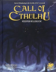 Call of Cthulhu RPG Keeper Rulebook 7th Edition EN