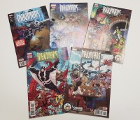 Inhumans Once & Future Kings 1-5 Complete