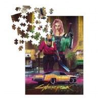 Cyberpunk 2077 Kitsch Puzzle (1000)