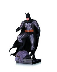 Batman Metallic Mini Statue ByJim Lee