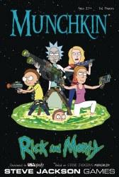 Rick and Morty Munchkin English