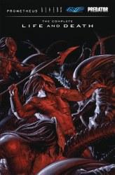 Aliens Predator Prometheus Avp Complete Life Death HC (C: 0-