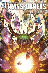 Transformers Unicron #6 (of 6) Cvr A Milne (Note Price)
