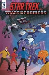 Star Trek Vs Transformers #3 (of 4) Cvr A Murphy