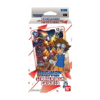 Digimon Card Game Starter Deck Gaia Red ST-1 EN PREORDER