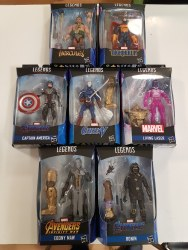 Marvel Legends Avengers Action-Figures Assortment (7)