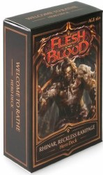 Flesh and Blood Welcome to Rathe Rhinar Hero Deck