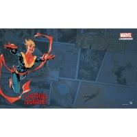 Marvel Champions Captain Marvel Game Mat