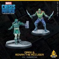 Marvel Crisis Protocol Drax and Ronan the Accuser EN