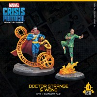 Marvel Crisis Protocol Doctor Strange and Wong EN