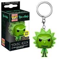 Funko POP! - Keychain Rick & Morty - Toxic Rick GITD