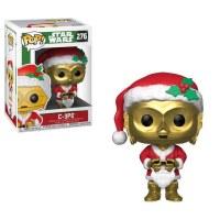 Funko POP! Star Wars Holiday Santa C3PO