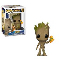 Funko POP! Infinity War Groot with Stormbreaker