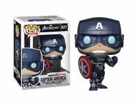 Funko POP! Avengers Game Captain America (Stark Tech Suit)
