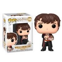 Funko POP! Harry Potter Neville w/ Monster Book