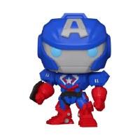 Funko POP! Mech Strike Captain America Vinyl Figure 10cm