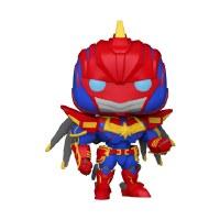 Funko POP! Mech Strike Captain Marvel Vinyl Figure 10cm