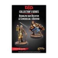D&D Curse of Strahd Rudolph Vaan Richten & Ezmeralda D'Aveni