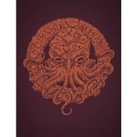 Cthulhu Alphabet Bronze Foil (Hardback) English