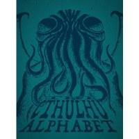 Cthulhu Alphabet Cerulean Foil (Hardback) English