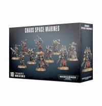 Warhammer 40k Chaos Space Marines