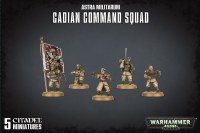 Warhammer 40k Astra MilitarumCadian Command Squad