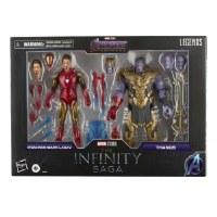 Marvel Legends 6-inch Iron Man Mark 85 vs. Thanos