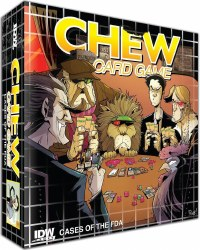 Chew Cases Of The FDA Card Game English