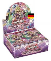 Yu-Gi-Oh Legendary Duelists Sisters of the Rose Display DE