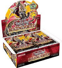 YU-GI-Oh Blazing Vortex Booster Display (24 Packs) Deutsch