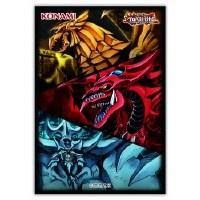 Yu-Gi-Oh Slifer, Obelisk & Ra Card Sleeves (50)