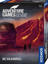 Adventure Games - Die Vulkaninsel Deutsch
