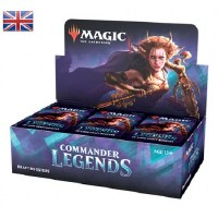Magic Commander Legends Draft Booster Display English