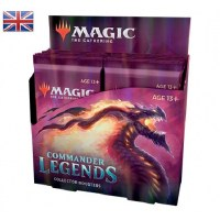 Magic Commander Legends Collector Booster Display English