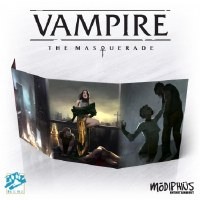 Vampire: The Masquerade 5th Editioni Storyteller Screen EN