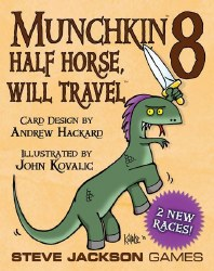 Munchkin 8 Half Horse Will Travel Expansion