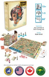 Mind Mgmt Deluxe Board Game English