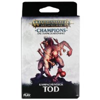 Warhammer Champions TCG Kampagnendeck Tod Deutsch
