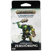 Warhammer Champions TCG Kampagnendeck Zerstörung Deutsch